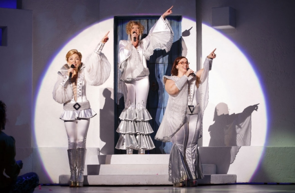 Photo Flash: First Look at Laura Michelle Hughes, Kyra Belle Johnson and More in MAMMA MIA! Tour