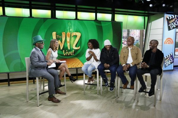 TODAY -- Pictured: (l-r) Al Roker, Natalie Morales, Shanice Williams, Ne-Yo, David Alan Grier, and Elijah Kelley appear on the ''Today'' show on Tuesday, November 3, 2015 -- (Photo by: Heidi Gutman/NBC)