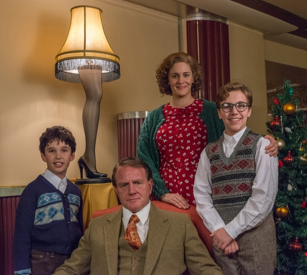 Family portrait! Theo Moss plays youngest brother Randy, Michael Accardo is the Old M Photo