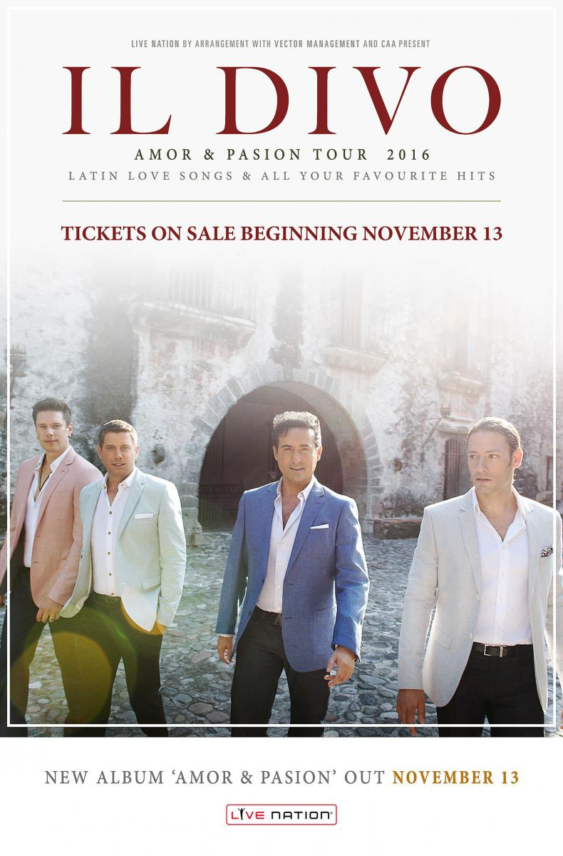 Il divo to bring amor pasion tour to north america dates announced - Il divo songs ...
