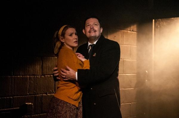Emily Bull and Nigel Richards
