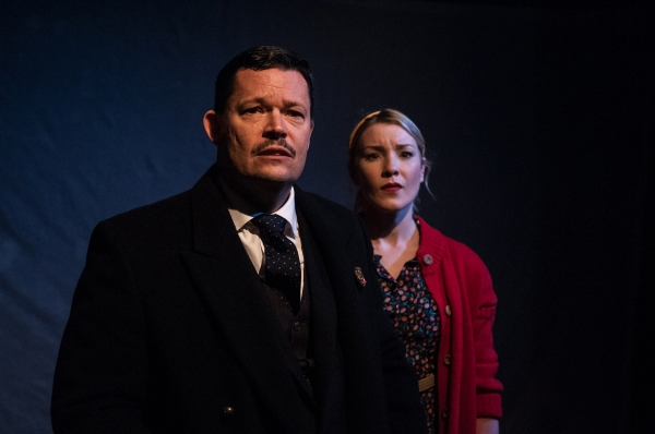 Nigel Richards and Emily Bull