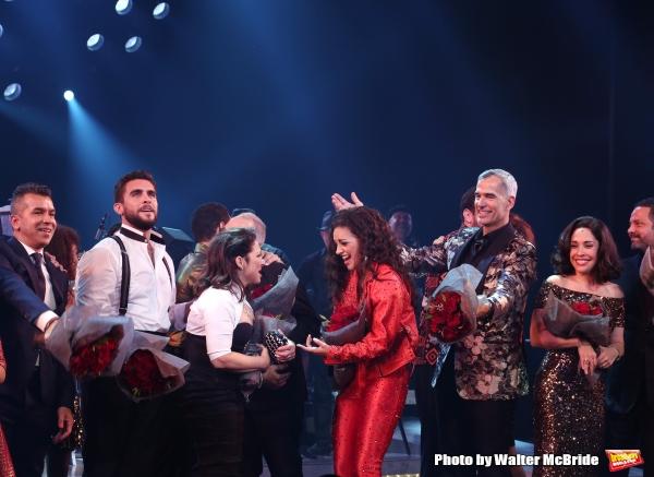 Sergio Trujillo, Josh Segarra, Gloria Estefan, Emilio Estefan, Ana Villafane, Jerry Mitchell, Andrea Burns and Alex Dinerlaris