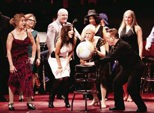 Photo Flash: THE WORLD GOES 'ROUND opens tomorrow night at the Riverdale YM-YWHA