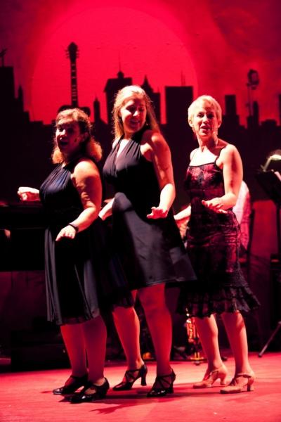 Robin Aleman, Katie Rhoades, Esther Cohen Bezborodko Photo
