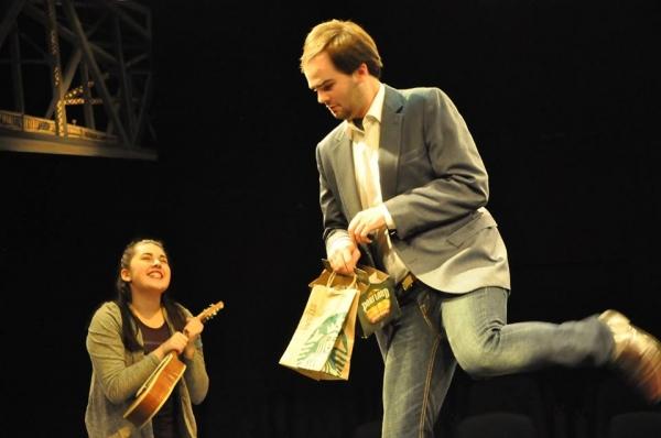 FRANK ROBERTS (Dromio) and NASTASSIA REYNOLDS (Luciana) Photo