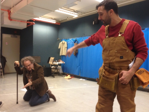 Photo Flash: In Rehearsal for THE ETERNAL SPACE at Theatre Row