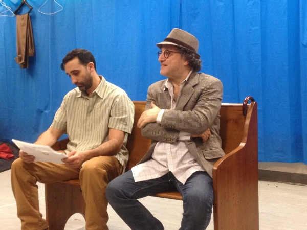 Clyde Baldo as Jose Phlanza and Matthew Pilieci as Paul Abbot