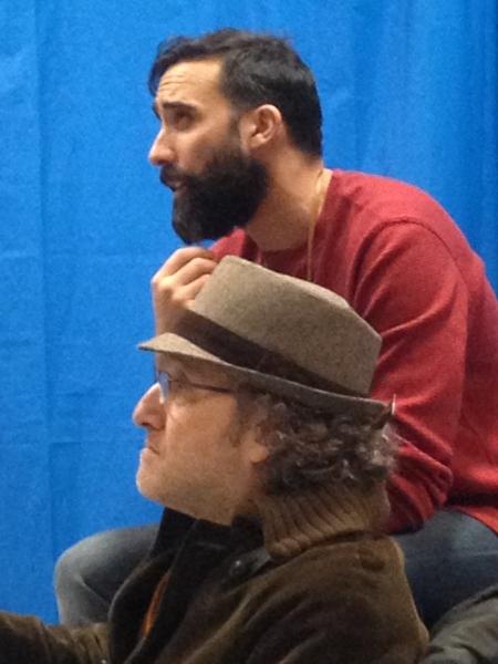 Matthew Pilieci as Paul Abbot and Clyde Baldo as Jose Phlanza