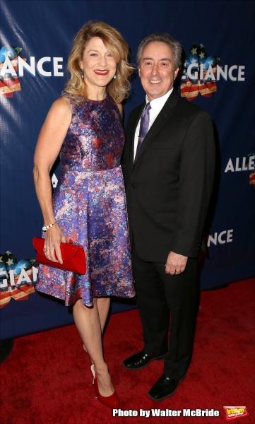 Victoria Clark and Tom Reidy