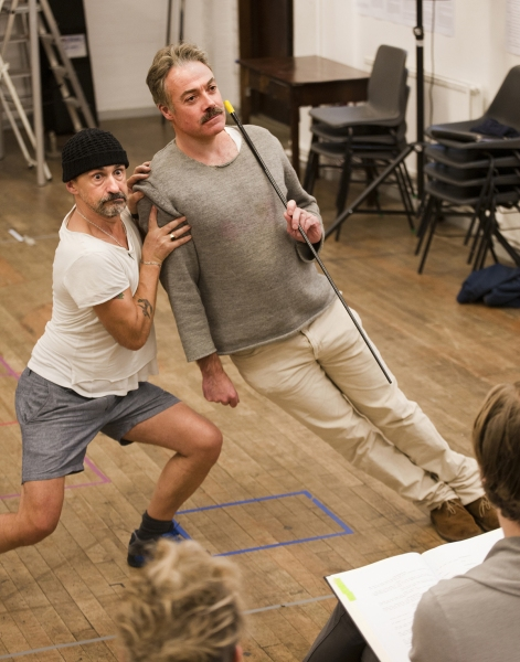 Simon Gregor (Passepartout) and Robert Portal (Phileas Fogg)