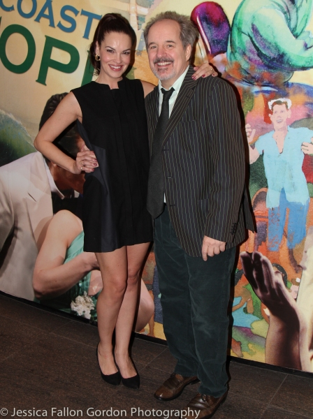 Tammy Blanchard and John Pankow