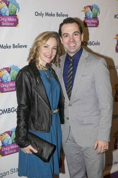Rob McClure and guest