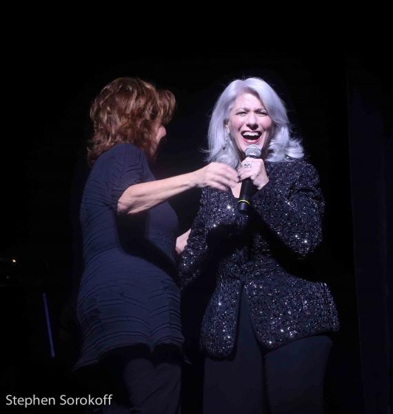 Joy Behar & Jamie deRoy