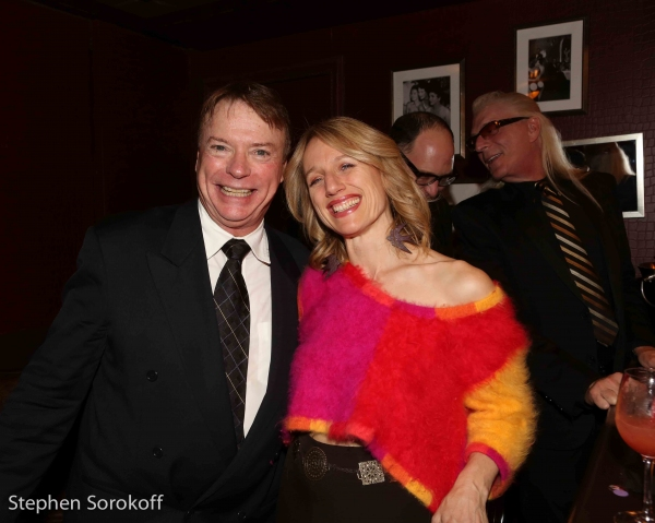 Photo Coverage: Brian Stokes Mitchell Surprises Jamie deRoy at Her 25th Anniversary Show