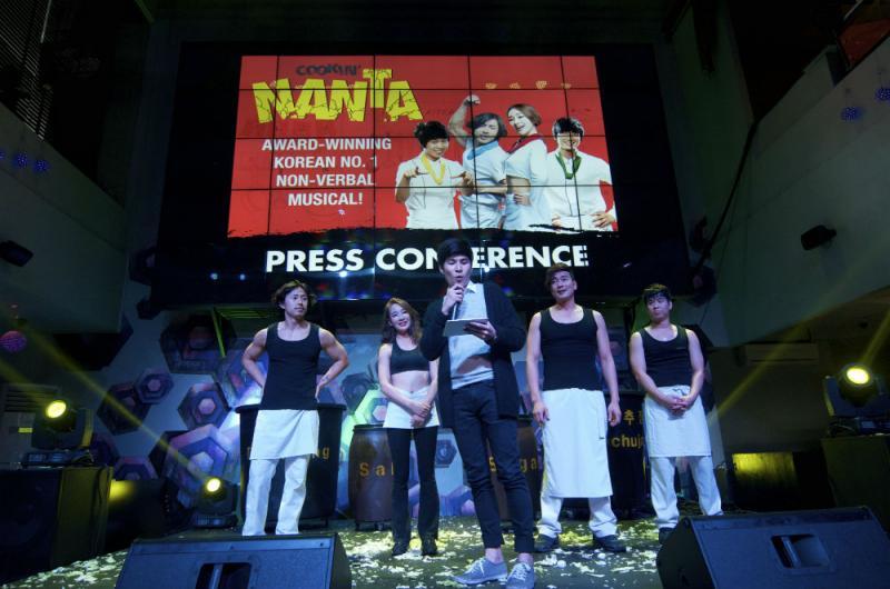 Off-Broadway's COOKIN' NANTA Now Playing in Manila