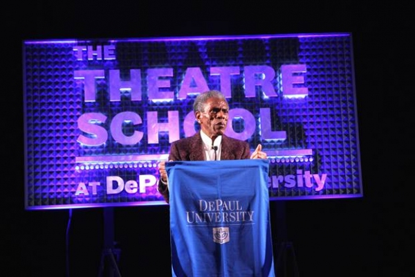Photo Flash: The Theatre School at DePaul Honors GOTTA DANCE Star Andre De Shields in Chicago