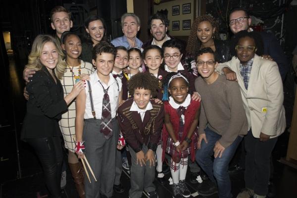 Alex Brightman and cast