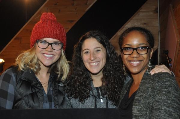 Sara King, Sara Shepard and Yasmeen Sulieman Photo
