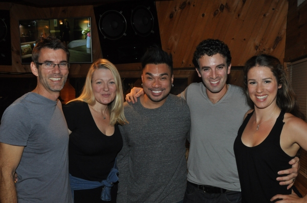 Lynn Pinto (Producer), Andros Rodriguez (Engineer), Jarrod Spector and Chilina Kennedy