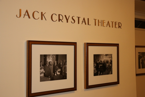 Photo flash billy crystal celebrates new jack crystal for Tisch school of design