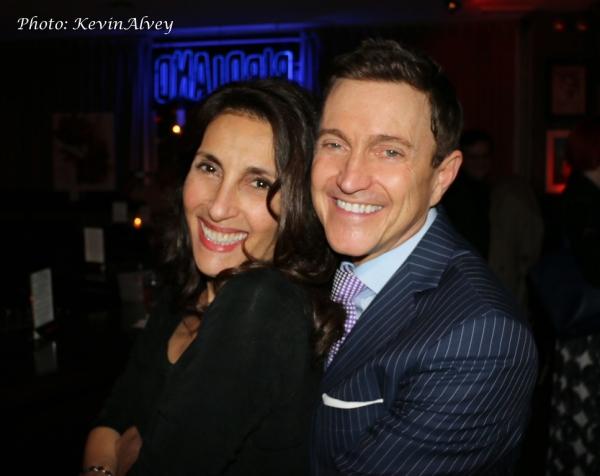 Barbara Fasano and Jeff Harnar