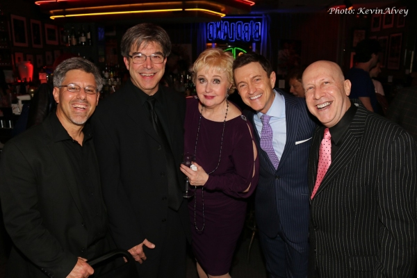 Dan Gross, Bob Renino, Sally Mayes, Jeff Harnar and Alex Rybeck
