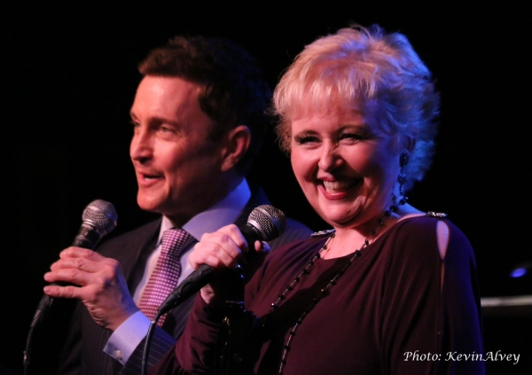Photo Flash: Sally Mayes and Jeff Harnar Do a DOUBLE TAKE at Birdland