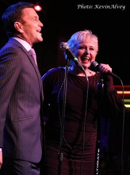 Photo Flash: Sally Mayes and Jeff Harnar Do a DOUBLE TAKE at Birdland