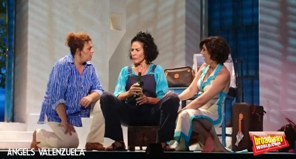 Eva Diago, Nina y Olga Hueso Photo