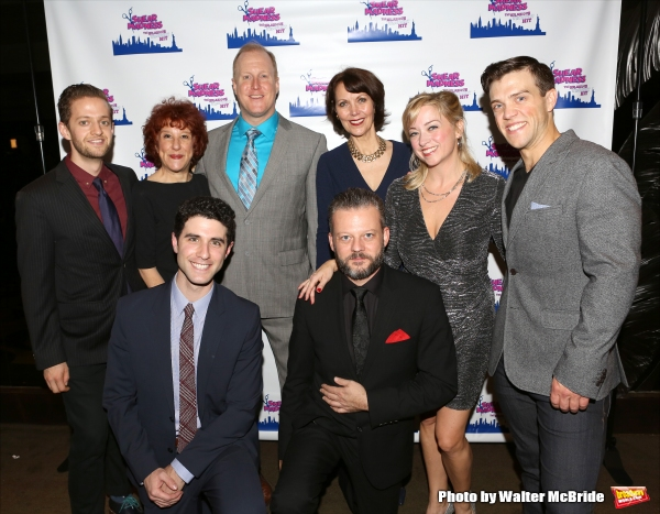Photo Coverage: SHEAR MADNESS Company Celebrates Opening Night!