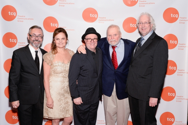 Kevin Moore, Teresa Eyring, Nathan Lane, Brian Dennehy, Bob Falls Photo