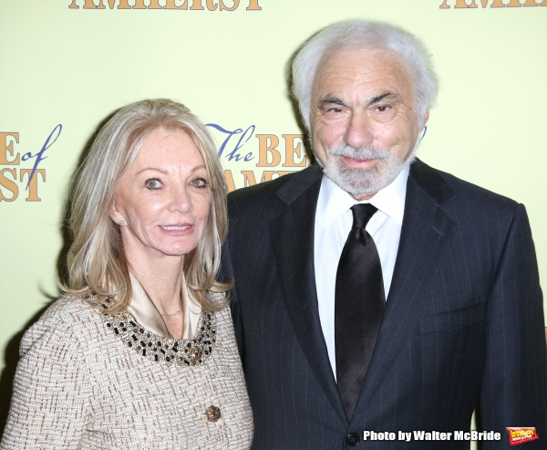 Producer Don Gregory with his wife