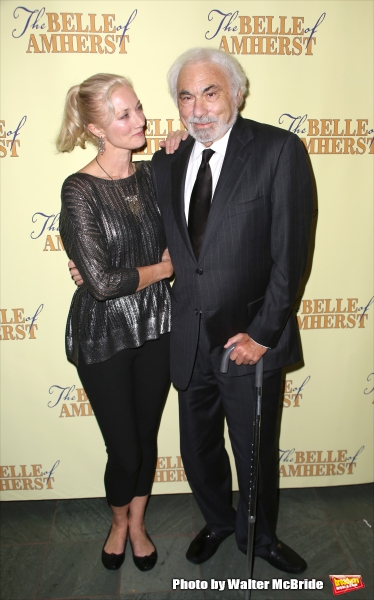 Joely Richardson and producer Don Gregory Photo