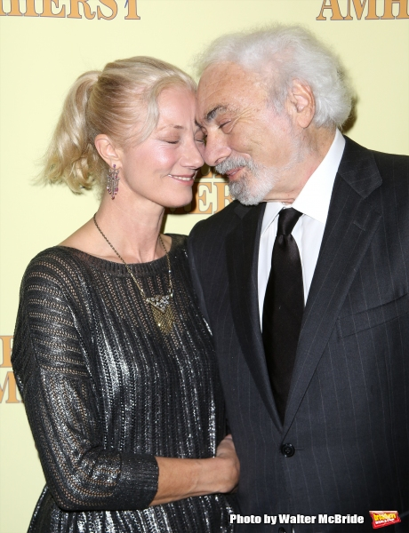 Joely Richardson and producer Don