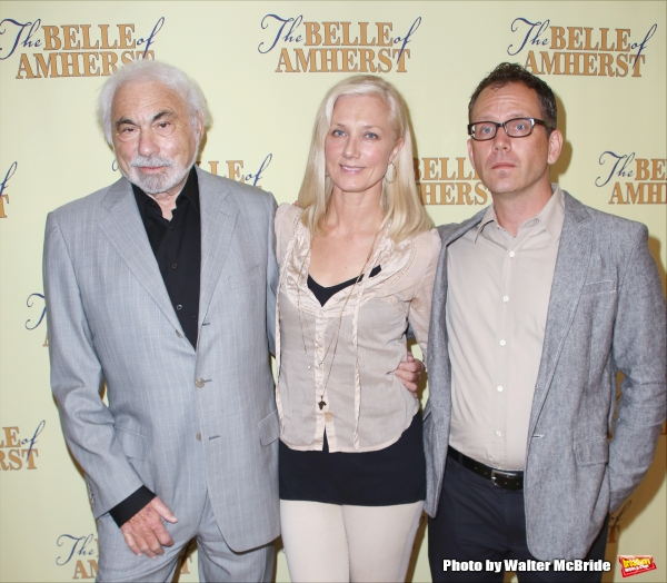 Producer Don Gregory, Joely Richardson and Director Steve Cosson  Photo