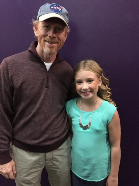 Ron Howard and Tori Murray