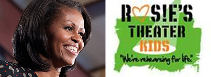 First Lady Michelle Obama to Honor Rosie's Theater Kids at ...
