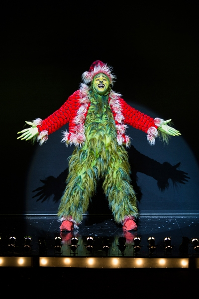 J. Bernard Calloway stars as The Grinch