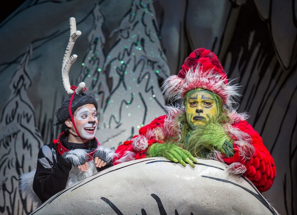 Blake Segal appears as Young Max and J. Bernard Calloway as The Grinch