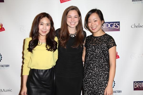 Rosa Jang, Mira Magrill, and Ann Hung