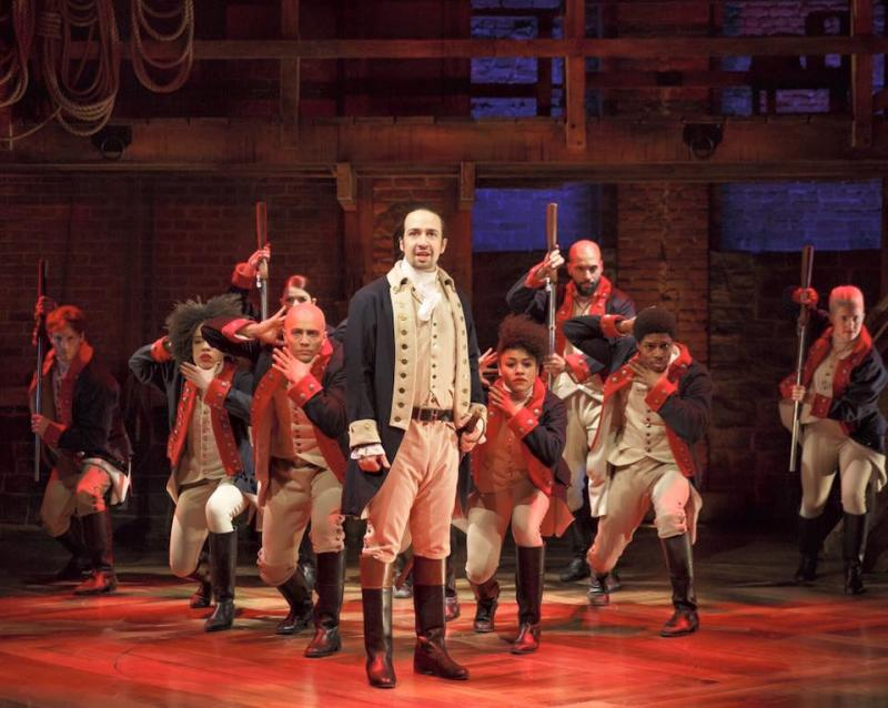 HAMILTON's Lin-Manuel Miranda is 'Totally Open' to Women Playing The Founding Fathers