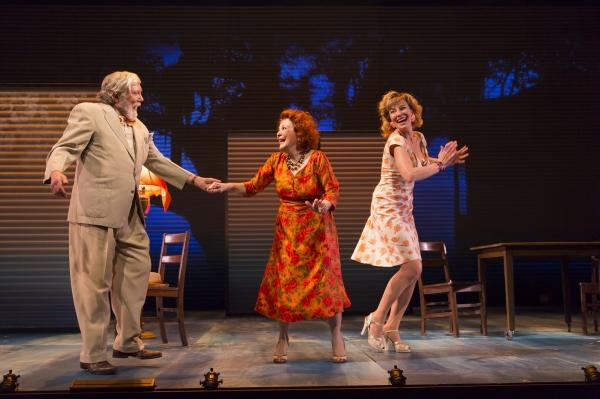 Ed Peed, Anita Gillette and Lusia Strus Photo