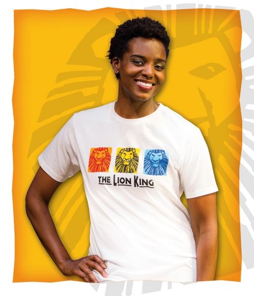 Photo Flash: Broadway's THE LION KING Unveils Stylish New T-Shirt Designs