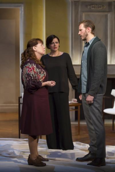 Ann Dowd as Dore, Dagmara Dominczyk as Liana and Bill Heck as Marcus