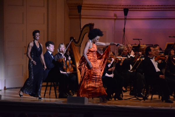 Photo Coverage: Montego Glover, Capathia Jenkins, and Sy Smith Lead NY Pops' SOPHISTICATED LADIES at Carnegie Hall