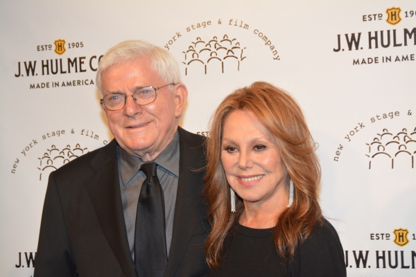 Phil Donahue and Marlo Thomas