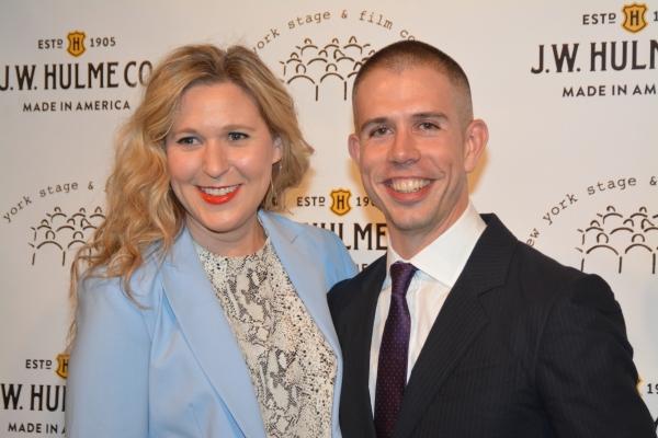 Cassie Beck and Stephen Karam