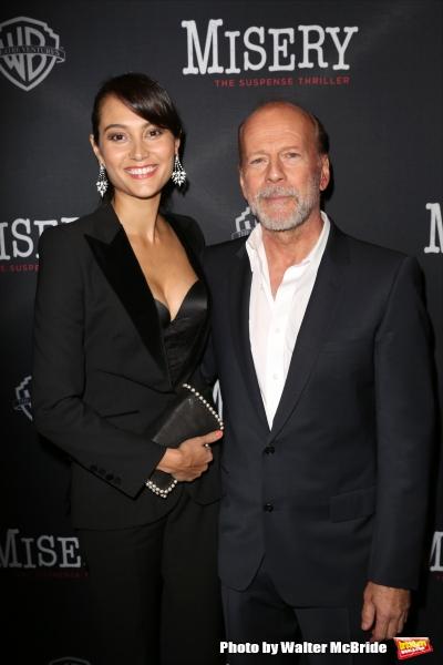 Emma Heming Willis and Bruce Willis  Photo
