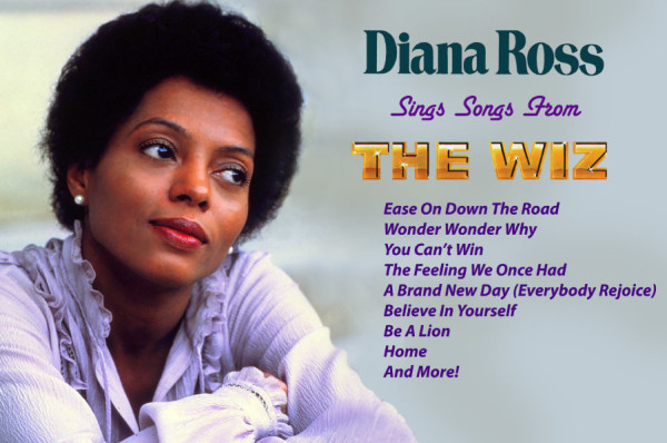 Motown Releases 'Lost' Album 'Diana Ross Sings Songs from THE WIZ' Today